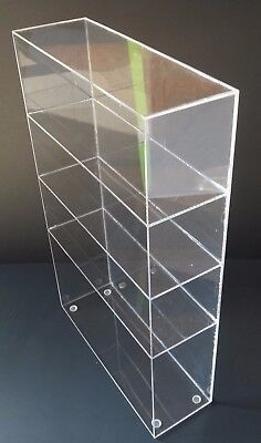 Acrylic Cabinet Counter Top Display Showcase Box 8x 8x 16 Display Box Acrylic