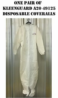 Kleenguard A20 Xxl White Disposable Tyvek Coveralls Ansiisea Nhnb Costume New