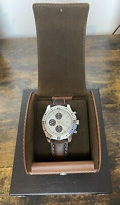Breitling Colt Chronograph Automatic White Face A13388 Excellent Condition