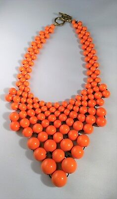 ollar Statement Necklace Knotted Cord Halloween Dress Up (Cord-halloween)