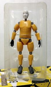 MythBusters Buster Action Figure, Crash Test Stunt Dummy, Discovery Channel, New