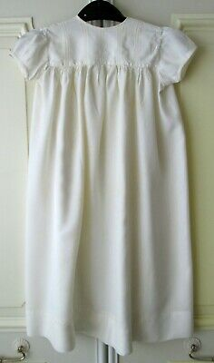 Vintage Antique - Baby Dress - Cream - Silky Material
