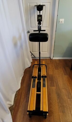 Original NordicTrack 505 Excel Skier Ski Exercise Machine w Monitor Nordic Track