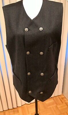 AUTHENTIC VERSUS GIANI VERSACE WOOL MEN VEST M