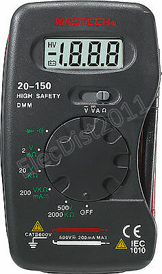 Mastech M300n 20-150 Mastech Pocket Digital Multimeter M300