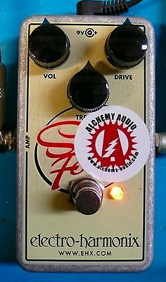 Electro Harmonix Soul Food Alchemy Audio Modified Overdrive Guitar Effects Pedal