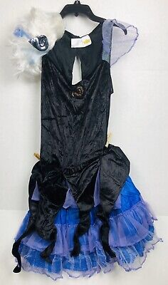 Disney Ursula Wig (Disney Store Little Mermaid Ursula Halloween Costume Adult Sz Large w/)