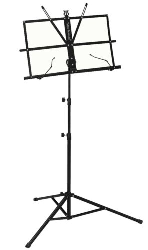 Tetra-Teknica EMS-04 Portable Folding Sheet Music Stand with Carry Bag