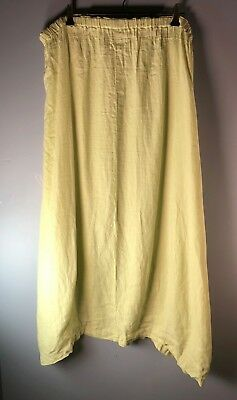 Windy Day Skirt - Yellow Linen by Blue Fish / Barclay Studio