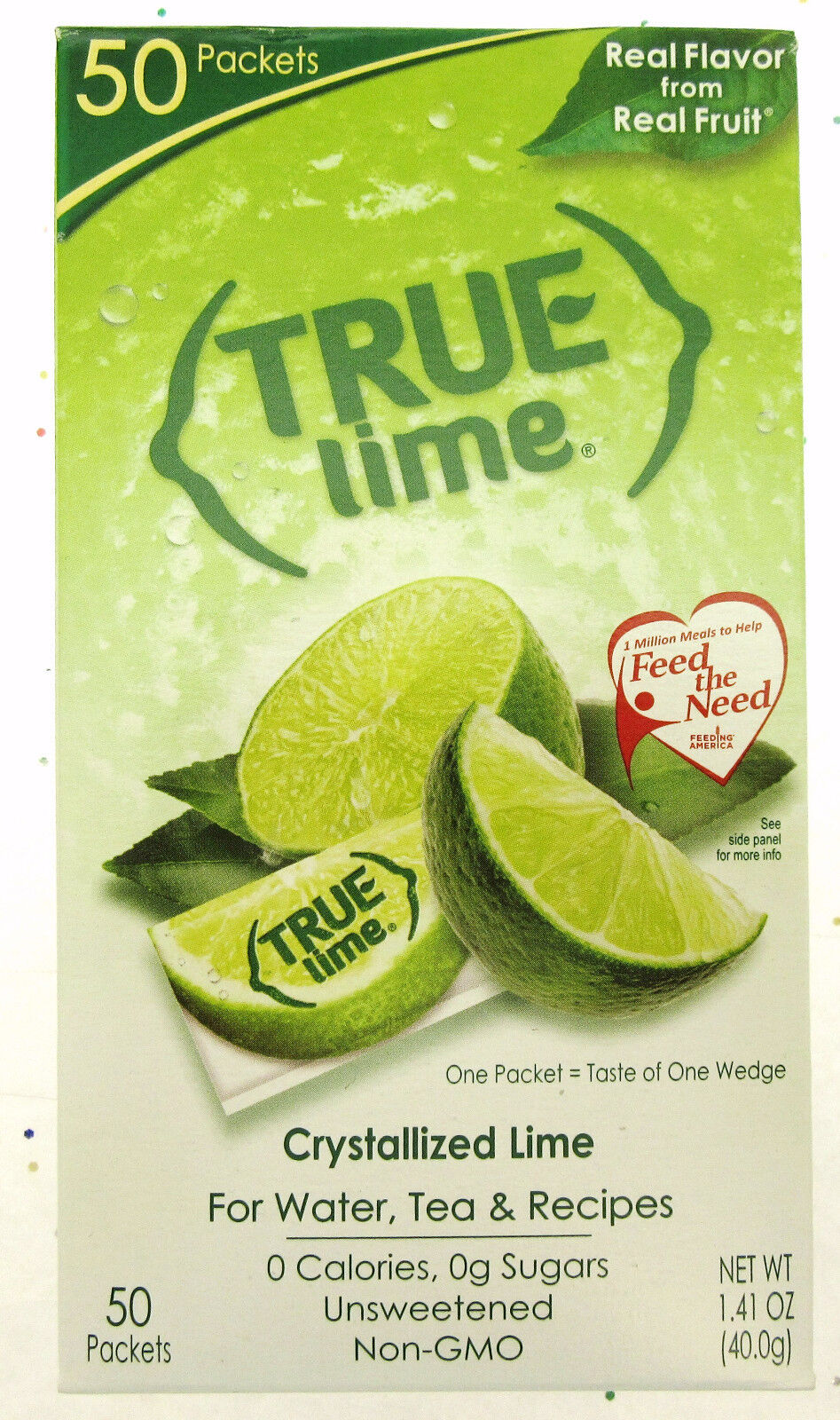 crystallized lime real flavor from real fruit