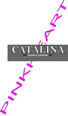 Coachmen Catalina LEGACY  Decals RV sticker decal graphics trailer camper