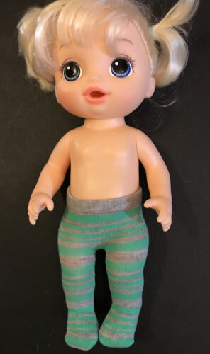 12 13 14 Kids Doll Clothes Baby Alive Grey Green Tights Stocking Stuffers - $3.75