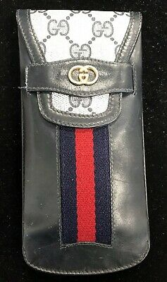 Vintage Gucci Eyeglass Sunglasses Case (Pouch)