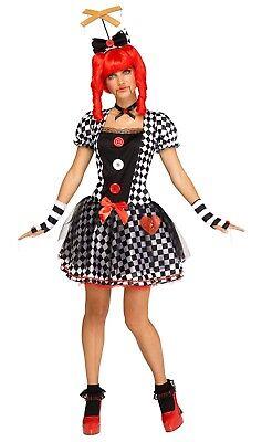 Adult Creepy Marionette Doll Costume