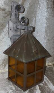 Large Electric Lantern with Amber Glass- Suit exterior South Windsor Hawkesbury Area Preview