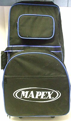 (MAPEX BELL PERCUSSION AND SNARE DRUM KIT WITH ROLLING BAG)