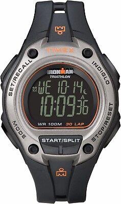 Timex Ironman Triathlon Men's T5K758 30-Lap Memory Quartz Digital 43mm Watch