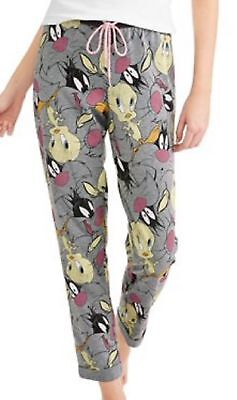 Pjs Clothing (Pajama Pant Clothing - Licensed Looney Tunes Grey Large Mashup Sylvester)