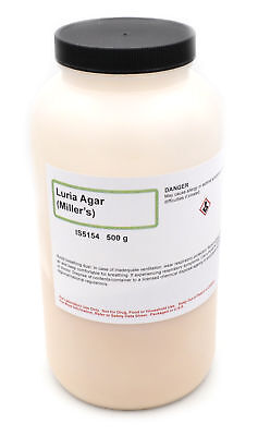 Innovating Science Luria Agar Millers 500g Makes 12 Liters Of Medium