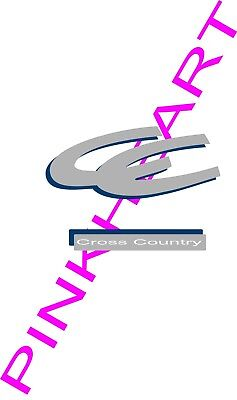 Coachmen cross country Decals RV sticker decal graphics trailer camper Sticker