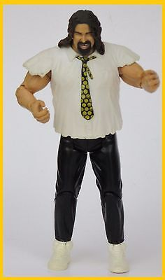 WWE MANKIND 2003 JAKKS ACTION FIGURE (Wwe Mankind)