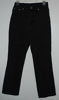 New York & Company Womens Jeans Size 4 Boot Cut High Rise Waist BLACK  Free S&H