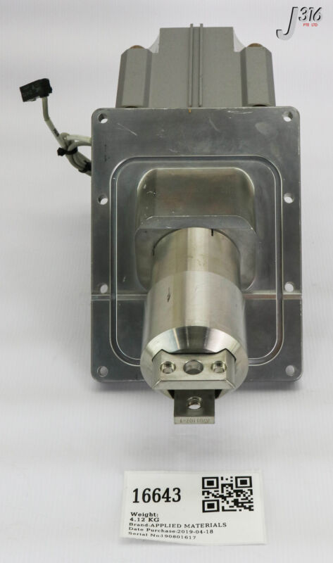 16643 Applied Materials Transfer Slit Valve Assy, Smc Cdq2b80-38-krjc 0010-20021
