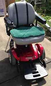 2011 JAZZY ELECTRIC WHEELCHAIR