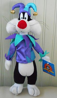 Sylvester Plush Stuffed Toy Warner Bros Looney Tunes Vintage JESTER 1997 NWT 13""