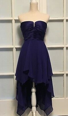 ARDEN B New Womens Formal High Low Shell Dress Color Violet Size (High Gloss Dress Formal)