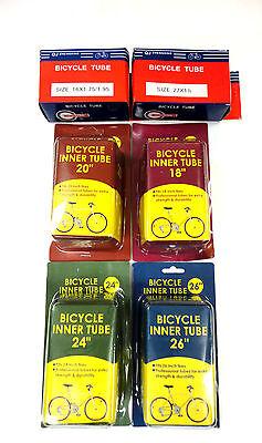 Bike Tube Bicycle Tire Inner Interior Tubes 16 27 18 20 24 26 In Schrader Valve