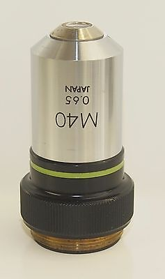 Olympus M40 Microscope Objective