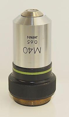 Olympus M40 Microscope Objective