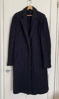 Alexander Mcqueen Knitted Coat IT52 Large