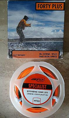 AIRFLO FORTY PLUS 40+ Extreme WF6S3 Dark Green/Sunrise Fliegenschnur