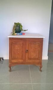 Oak side table Zillmere Brisbane North East Preview