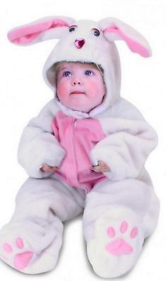 ★ Partylook Plüschkostüm Kinder Hase Weiß Hasenkostüm Osterhase - Osterhasen Kostüme Kinder