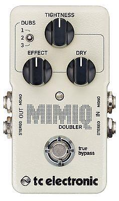 New TC Electronic Mimiq Doubler Guitar Effects Pedal!