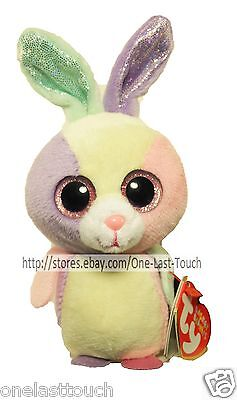 TY Basket Beanies Collection BLOOM Happy Spring EASTER Collectible BUNNY  RABBIT 2eee04b44b58