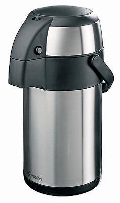 Pumpkanne-Pumpsystem-Isolierkanne-Thermo-2,5 Liter-Edelstahl-Bartscher- Gastro