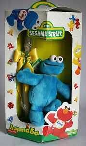 Very Rare 1996 Sesame Street Cookie Monster Easter Candle