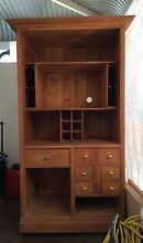 KITCHEN DRESSER CABINET Pine wood with Baltic Stain shabby rustic South Fremantle Fremantle Area Preview