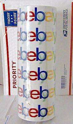 6 Rolls Ebay Branded Logo Bopp Shipping Tape 75 Yards X 2 Brand New Sealed.