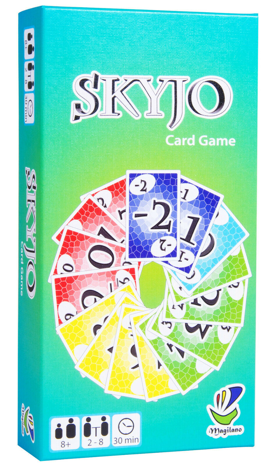 SKYJO, by MAGILANO - The entertaining card game for kids and adults.