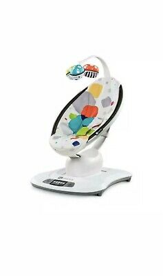 4Moms MamaRoo Infant Seat Rocking Swaying w/ Bluetooth - Multi Colored Plush (20