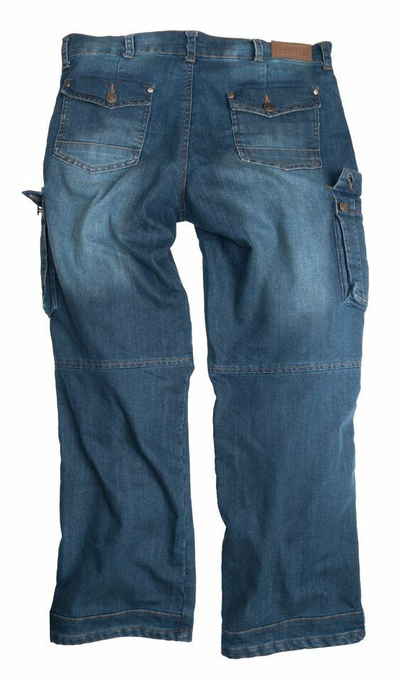 Cargohose Vintage Cargo Trouser Denim & Canvas Midblue in Gescher
