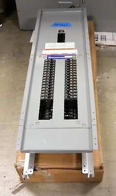 Square D Nq 50 Amp Main Breaker Panel 42 Cir 208y120v 3p 4w With Qob Breakers