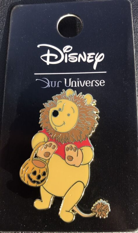 DISNEY 2021  OUR UNIVERSE WINNIE THE POOH AS A LION PIN Halloween 🎃