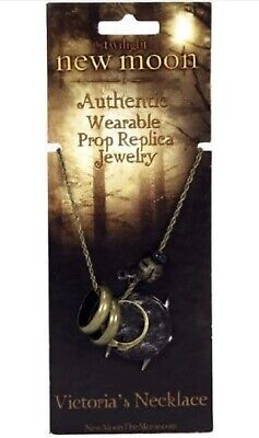 Twilight New Moon NECA Victoria's Necklace NEW Prop Replica