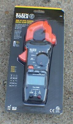 Klein Tools Cl220 Digital Clamp Meter Ac Auto-ranging 400 Amp With Temp - New